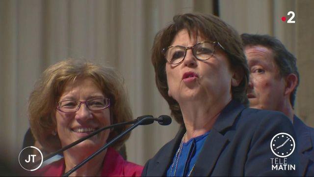 Municipales : Martine Aubry (PS) conserve Lille de Justesse