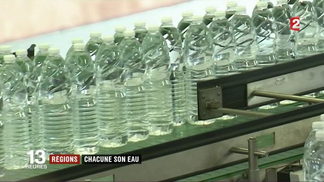 Consommation : chaque région à son eau en bouteille