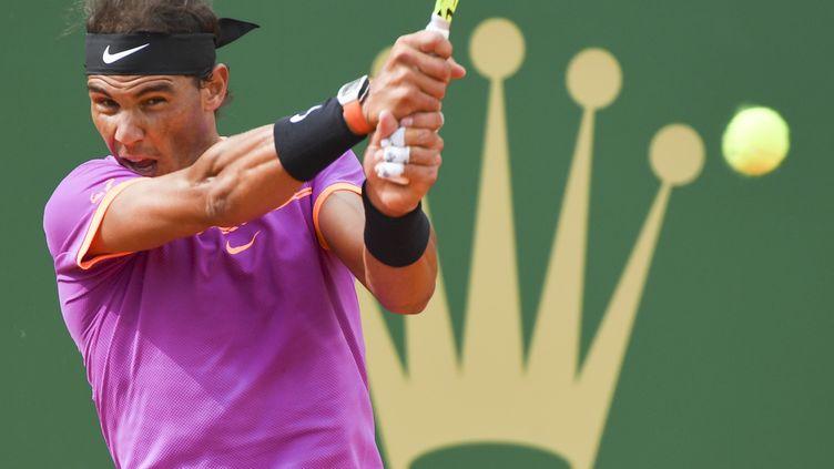 Treizième quart de finale à Monaco pour Nadal (YANN COATSALIOU / AFP)
