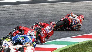 Danilo Petruccia remporté le dernier Grand Prix d'Italie, le 2 juin 2019. (EMMANUELE CIANCAGLINI / NURPHOTO)