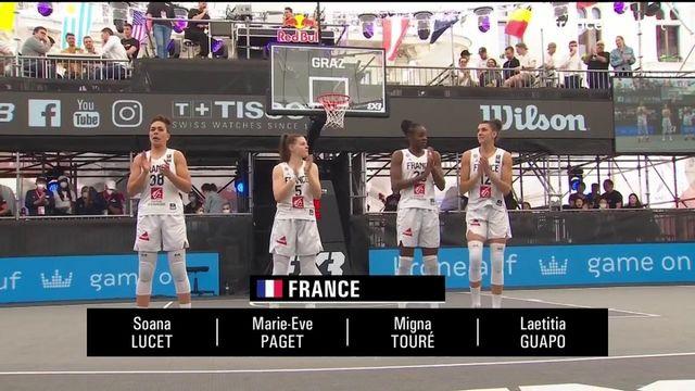 TQO Basket 3x3 (F) : les meilleurs moments de France vs États-Unis