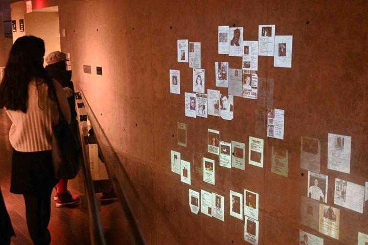 Mur de messages au 09/11 Memorial (Jean-Claude Desjacques)