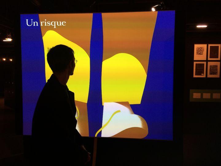 Adrien Parlange au Salon du livre et de la presse jeunesse de Montreuil, 30 novembre 2016  (laurence Houot / Culturebox)