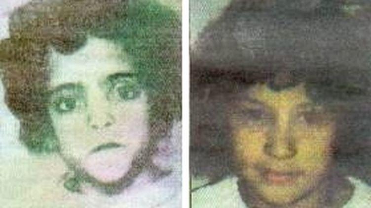 Sarah Syad, 6 ans, etSaïda Berch, 10 ans, ont été retrouvées mortes en 1991 et 1996 dans l'Isère. (DR)