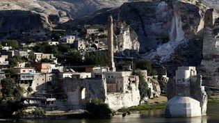 La citadelle de Hasankeyf en Turquie, en 2018  (SEDAT SUNA/EPA/Newscom/MaxPPP)