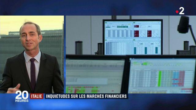 Crise politique en Italie : inquiétudes sur les marchés financiers