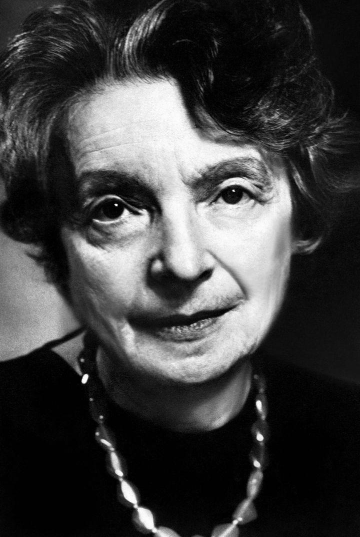 L'écrivaine Nelly Sachs, en mai 1970 (MARY EVANS/SIPA / SIPA)