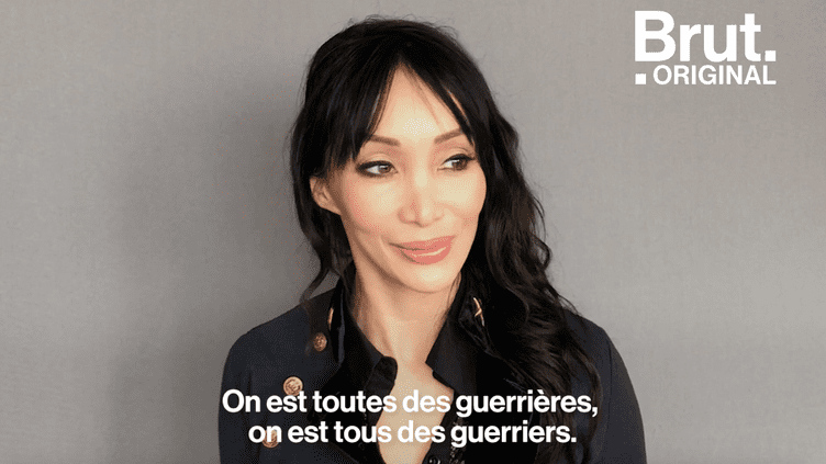 """Céline Tran, ancienne actrice X : """"Si on décide de faire du X, c'est quand même pour s'éclater, transgresser, se faire plaisir."""" (BRUT)"""