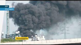 Une explosion dans une usine en Allemagne (FRANCEINFO)