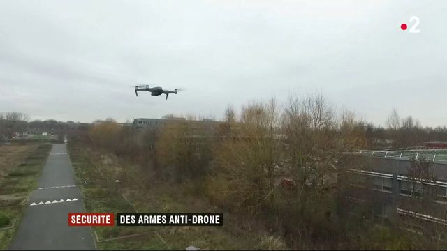 Sécurité : des armes anti-drone