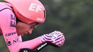 Le Suisse Stefan Bisseger lors de la cinquième étape du Tour de France le 30 juin 2021. (ANNE-CHRISTINE POUJOULAT / AFP)