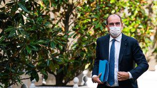 Le Premier ministre, Jean Castex, à Paris, le 13 septembre 2021. (XOSE BOUZAS / HANS LUCAS / AFP)
