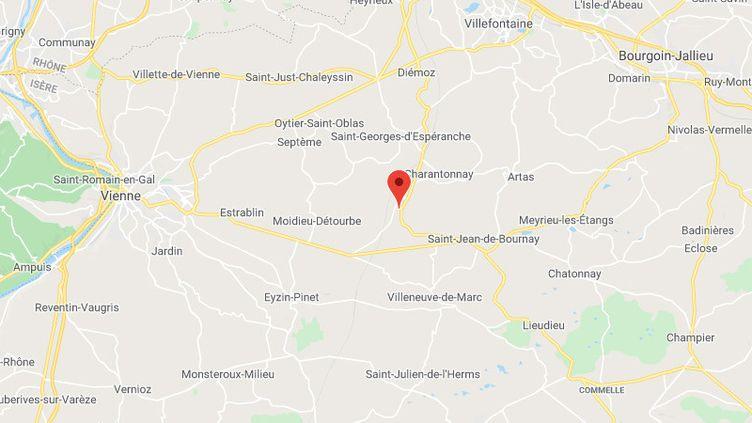 Beauvoir-de-Marc (Isère) (GOOGLE MAPS)