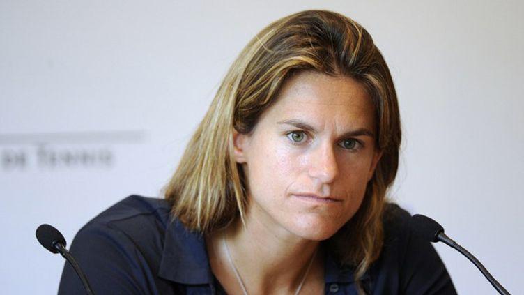Amélie Mauresmo, co-directrice de l'Open Gaz de France