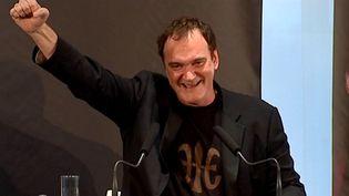 Quentin Tarantino en conférence de presse  (France3/culturebox)