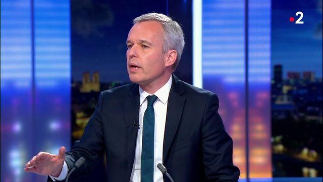 """François de Rugy sur le plateau du 20 Heures : """"Je me présente devant vous, ce soir, en homme blanchi"""""""
