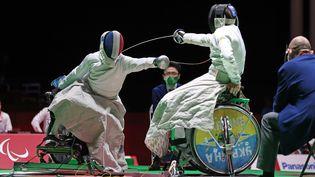 Romain Noble et les Français ont décroché la médaille de bronze en escrime aux Jeux paralympiques de Tokyo. (France Paralympique)