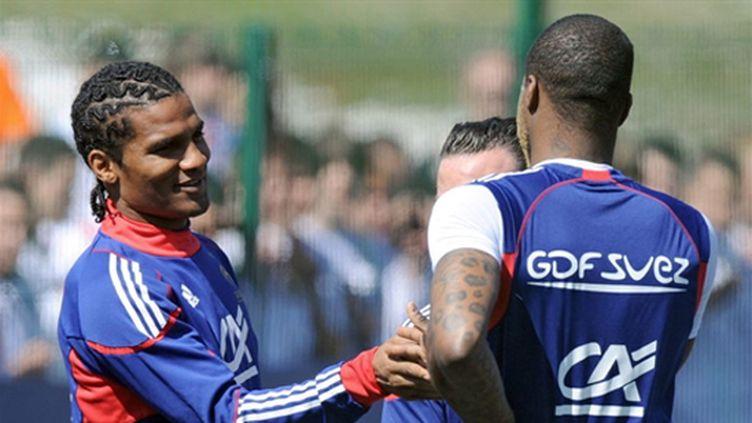 Malouda, Cissé et Valbuena