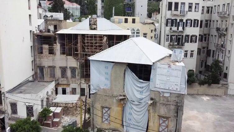 Liban : Beyrouth se relève peu à peu, un an après la terrible explosion. (FRANCEINFO)