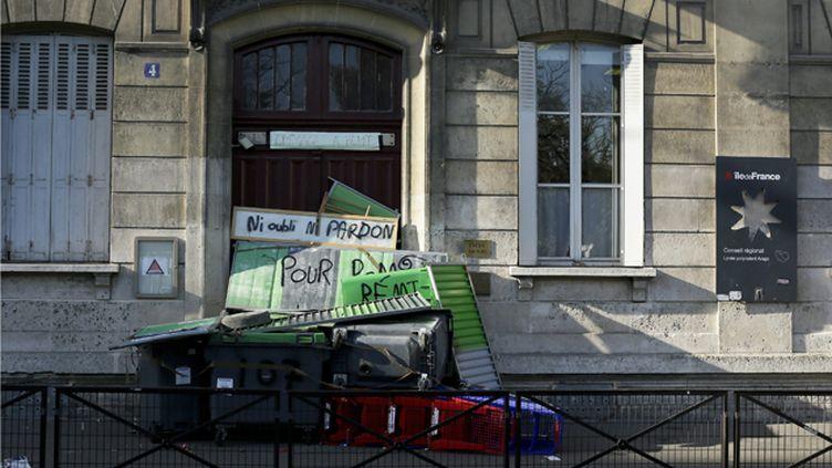 (Les lycéens ont bloqué une vingtaine d'établissements vendredi et une trentaine la veille © Maxppp)