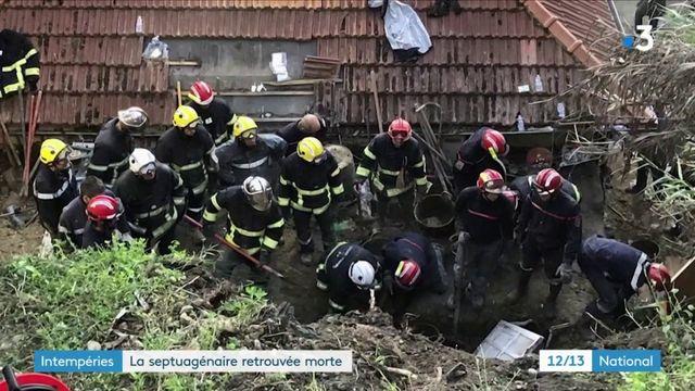 Nice : la septuagénaire ensevelie a été retrouvée morte