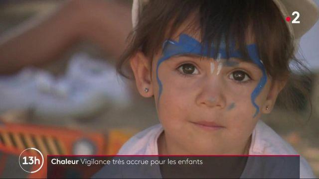 Chaleur : vigilance accrue pour les enfants