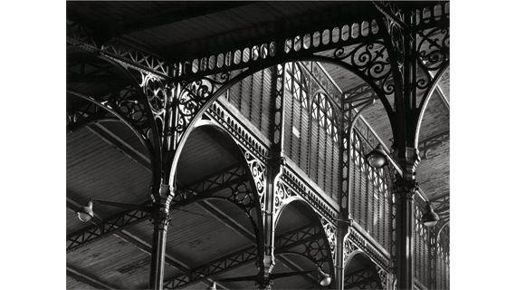 """Structure de Baltard"", 2 décembre 1968. (ROBERT DOISNEAU)"