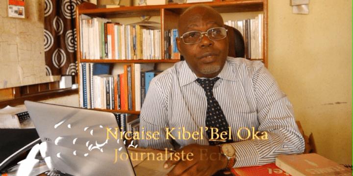 """Le journaliste d'investigation et écrivain congolais Nicaise Kibel'bel Oka, est l'auteur du livre """"L'avènement du jihad en RD Congo, un terrorisme islamiste ADF. (Photo/Nicaise Kibel' bel Oka)"""