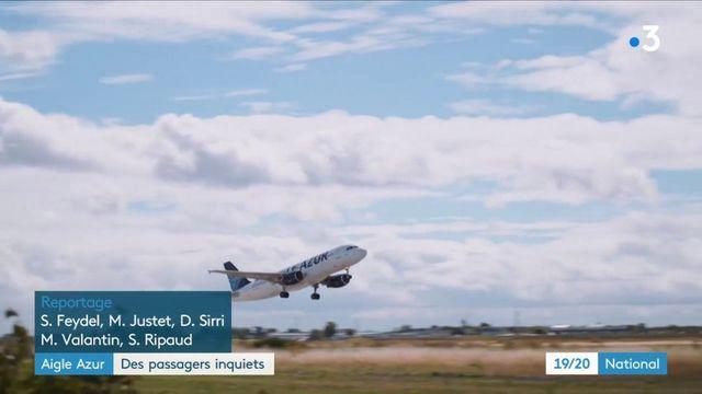 Aigle Azur : des passagers bloqués, inquiets et en colère
