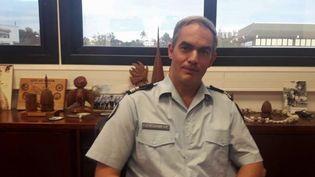 A peine nommé, le nouveau patron de la gendarmerie de la Nouvelle-Calédonie Eric Steiger est déjà relevé de ses fonctions à sa demande après les révélations de Mediapart sur sa condamnation pour violences conjugales. (CAPTURE D'ÉCRAN FRANCE 3)