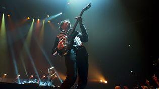 Matthew Bellamy, le chanteur et guitariste de Muse en concert à Amsterdam  (EPA/MAXPPP)
