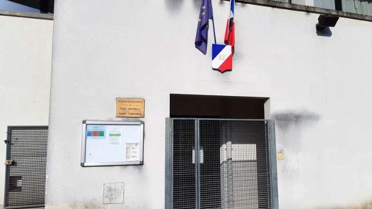 L'école Olivier Charbonnier à Châteauroux. (GAELLE FONTENIT / RADIO FRANCE)