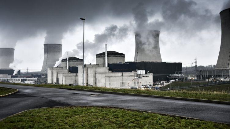 La centralenucléaire deCattenom (Moselle), le 13 décembre 2016. (XAVIER POPY / REA)
