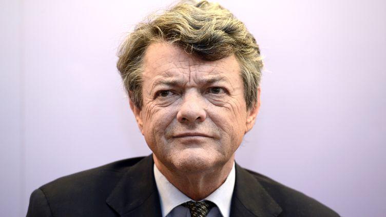 Le président de l'UDI, Jean-Louis Borloo, en mai 2013,lors d'une conférence de presse à Paris. (BERTRAND GUAY / AFP)