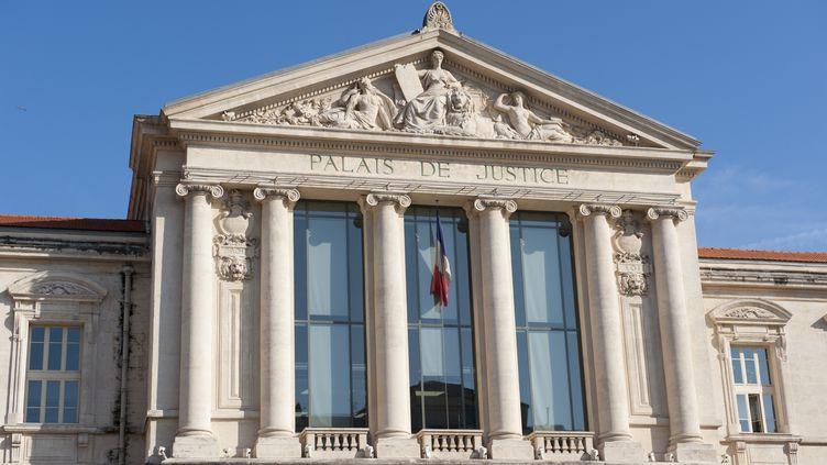Le tribunal de Nice (Alpes-Maritimes), le 25 février 2011. (HUGHES HERVE / AFP )