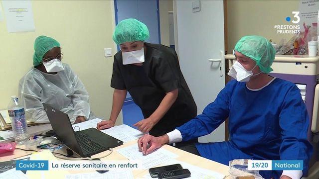 Coronavirus : la réserve sanitaire, une aide précieuse pour les hôpitaux
