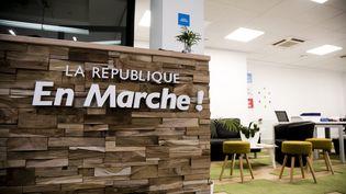 Les bureaux de La République en marche, en octobre 2017. (MAXPPP)