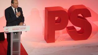 Le premier secrétaire du Parti socialiste, Jean-Christophe Cambadélis, à Paris, le 8 septembre 2015. (JACQUES DEMARTHON / AFP)