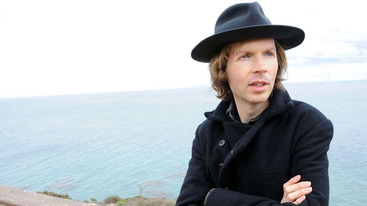 Beck chez lui, à Malibu, en Californie (14 décembre 2012)  (Katy Winn / AP / Sipa)