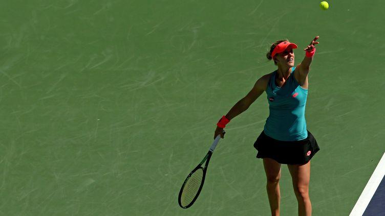 Agnieszka Radwanska va tenter de retourner en finale à Indian Wells  (MATTHEW STOCKMAN / GETTY IMAGES NORTH AMERICA)