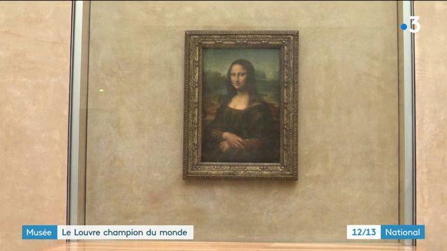 Musée : record mondial de visiteurs au Louvre