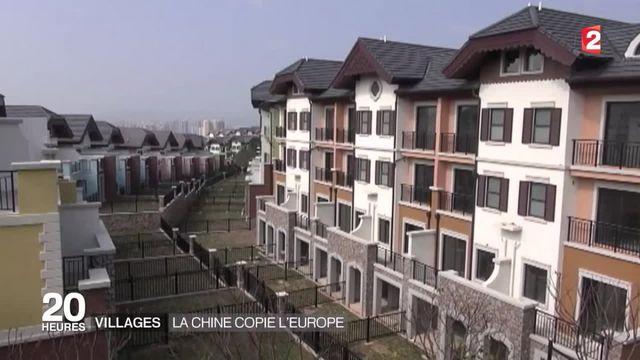 Des reproductions de villes européennes au milieu de la Chine