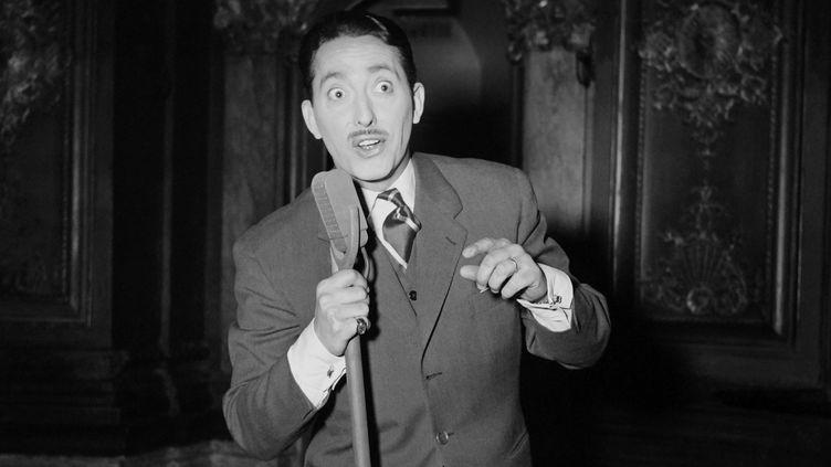 Max Doucet, connu sous le nom de Zappy Max, le 8 avril 1954 à Paris. (INTERCONTINENTALE / AFP)