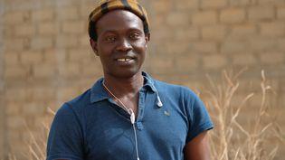 Djamil Bangoura, président de l'association sénégalaise Prudence, qui vient en aide aux personnes LGBT. (NATHANAEL CHARBONNIER / RADIO FRANCE)