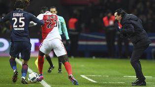 Le match de championnat entre le PSG et Monaco a eu lieu le 29 janvier 2017 à Paris. (Photo d'illustration) (FRANCK FIFE / AFP)