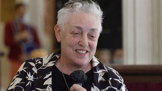 La Britannique Ruth Mackenzie le 29 juin 2020 à Paris. (SADAKA EDMOND / SIPA)