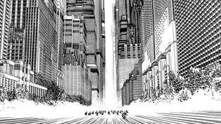"""Extrait d'""""Akira"""", du Japonais Katsuhiro Otomo, déjà sélectionné pour le Grand Prix à Angoulême en 2014  (Katsuhiro Otomo)"""