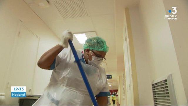Coronavirus : les agents d'entretien en première ligne de l'épidémie