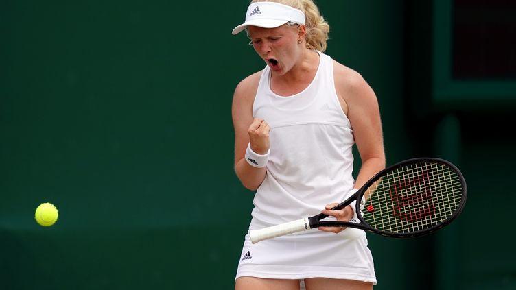 La Britannique Francesca Jones, à Wimbledon en 2018 (JOHN WALTON / MAXPPP)