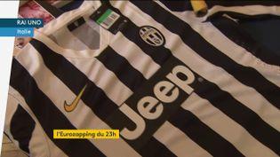 Le maillot de la Juventus Turin (FRANCEINFO)
